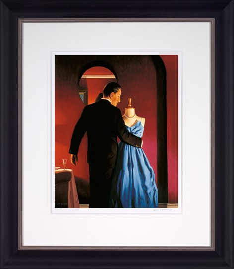 Altar of Memory by Jack Vettriano - Framed Limited Edition on Paper