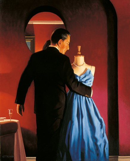 Altar of Memory by Jack Vettriano - Limited Edition on Paper